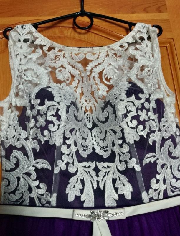 Шикарное выпускное платье в пол - Фото 4