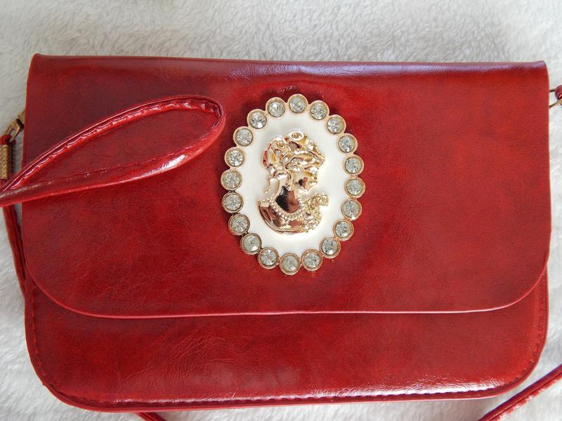 Клатч сумочка сумка на плече la fleur - Фото 2