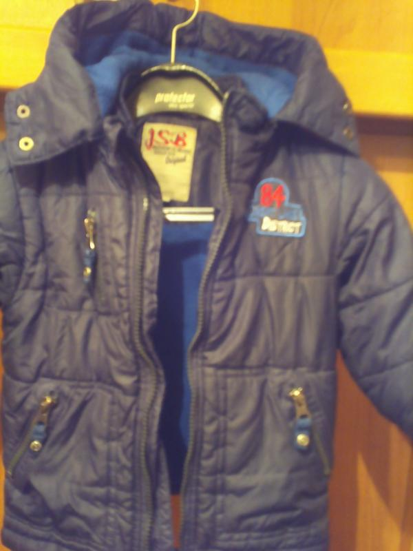 Куртка, деми, внутри флис. jsb. - Фото 3