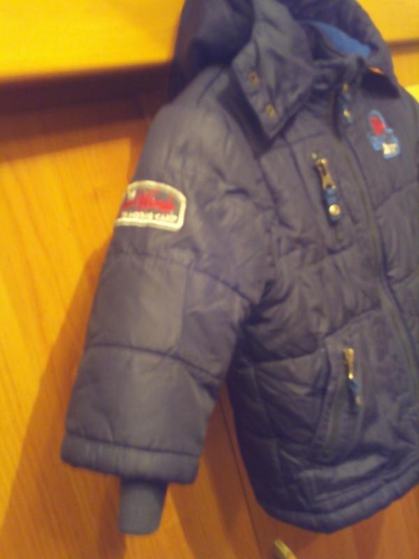 Куртка, деми, внутри флис. jsb. - Фото 4