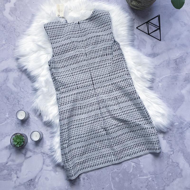 Новое платье с плотной ткани стильный сарафан next - Фото 2