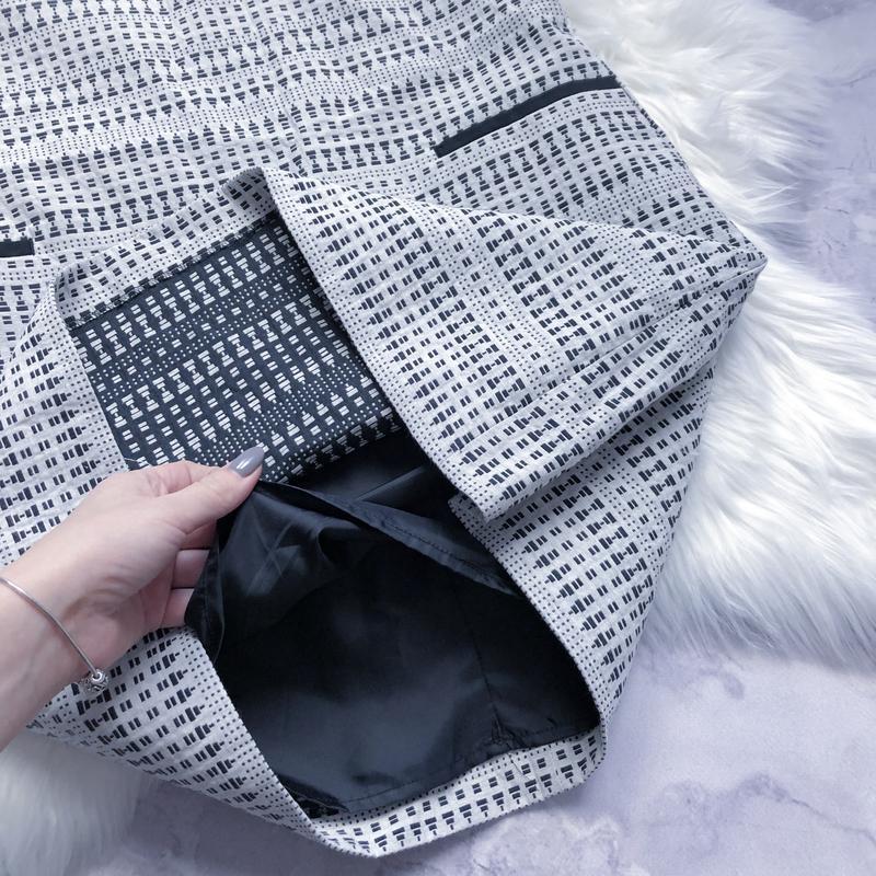 Новое платье с плотной ткани стильный сарафан next - Фото 4