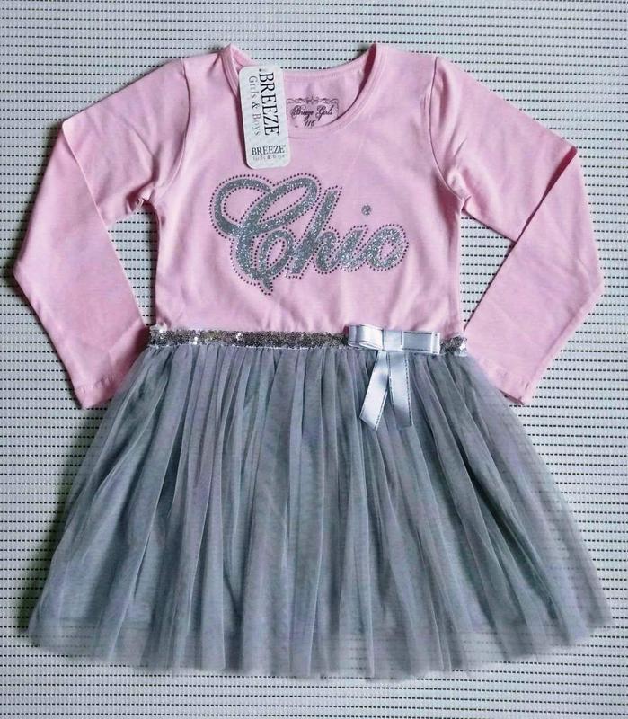 Красивые платья breeze для девочек 6-11 лет. турция