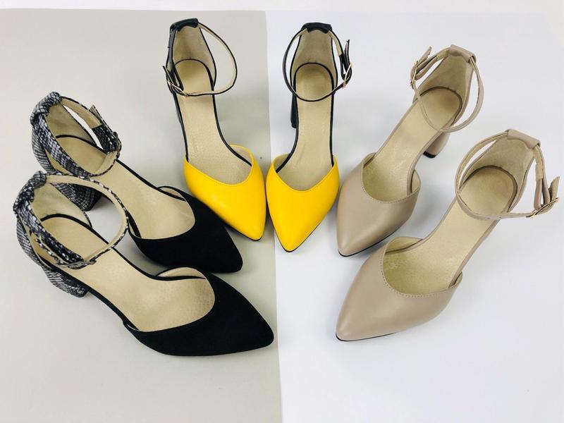 Lux обувь! натуральные кожаные женские босоножки на удобном ка... - Фото 5