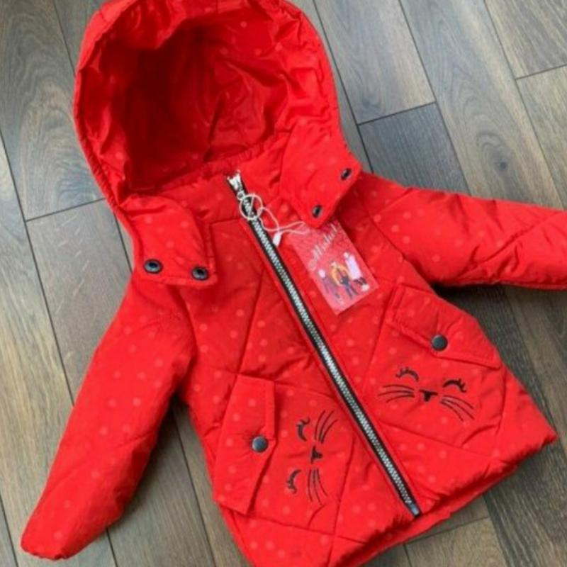 Демисезонные куртки для девочек производитель украина - Фото 2