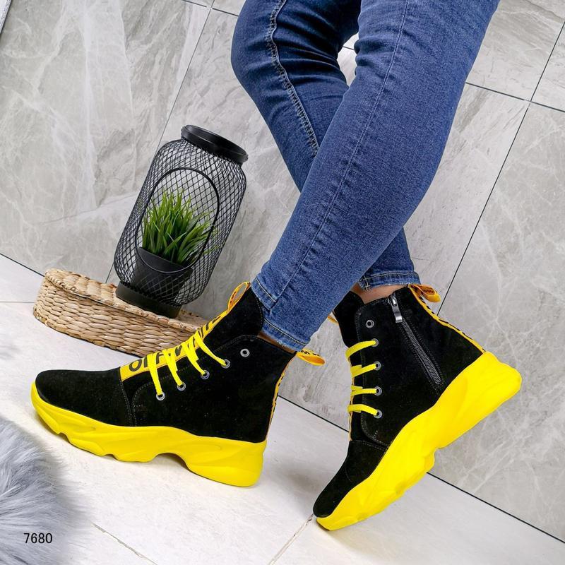 Натуральные ботиночки - Фото 2