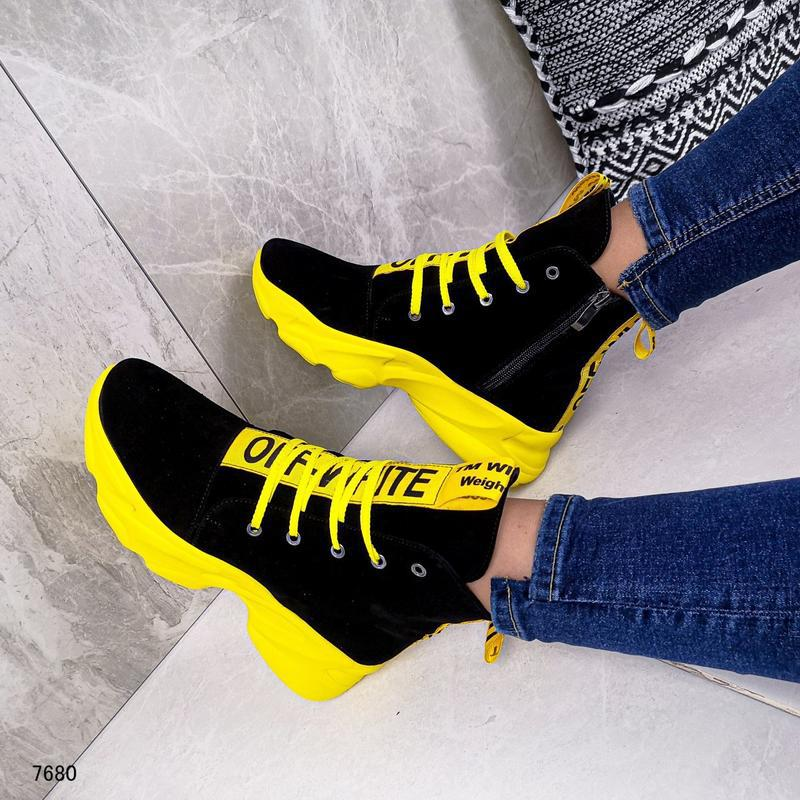 Натуральные ботиночки - Фото 3