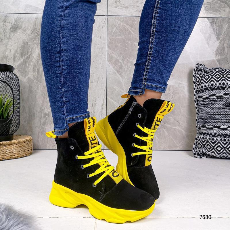 Натуральные ботиночки - Фото 4