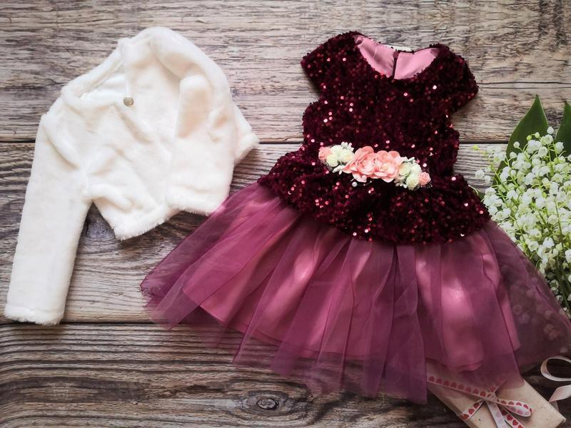 Платье для девочки + болеро