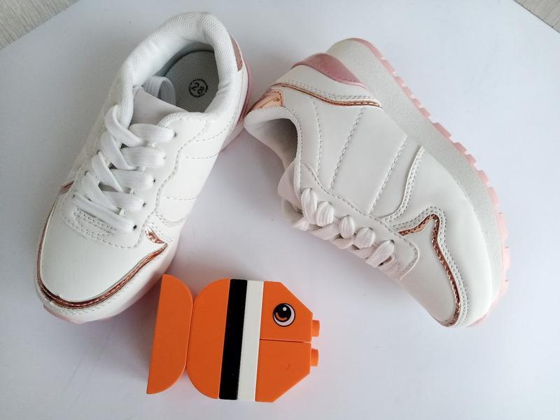 Суперские кроссовочки для девочек 18см - Фото 2