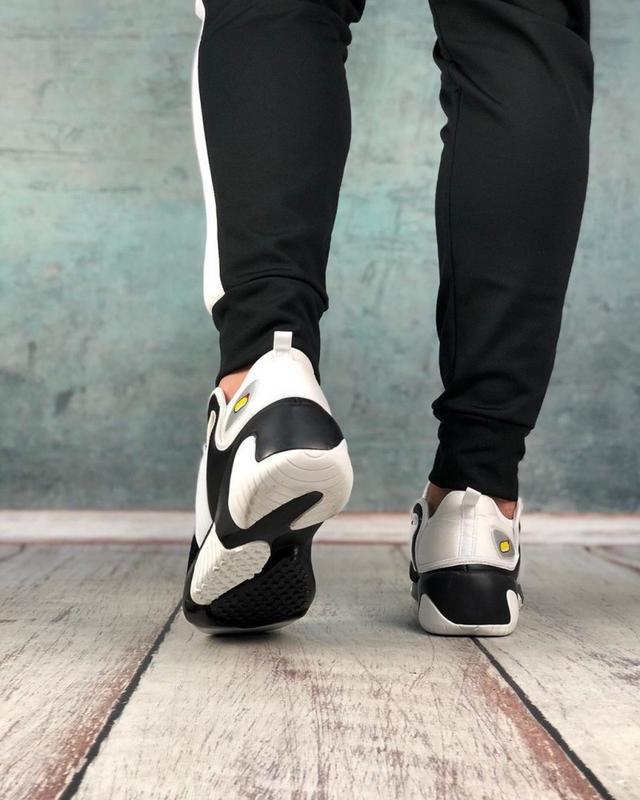 Обувь кроссовки женские black and white - Фото 3