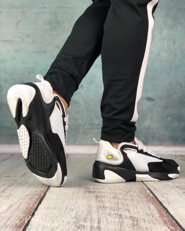 Обувь кроссовки женские black and white - Фото 4