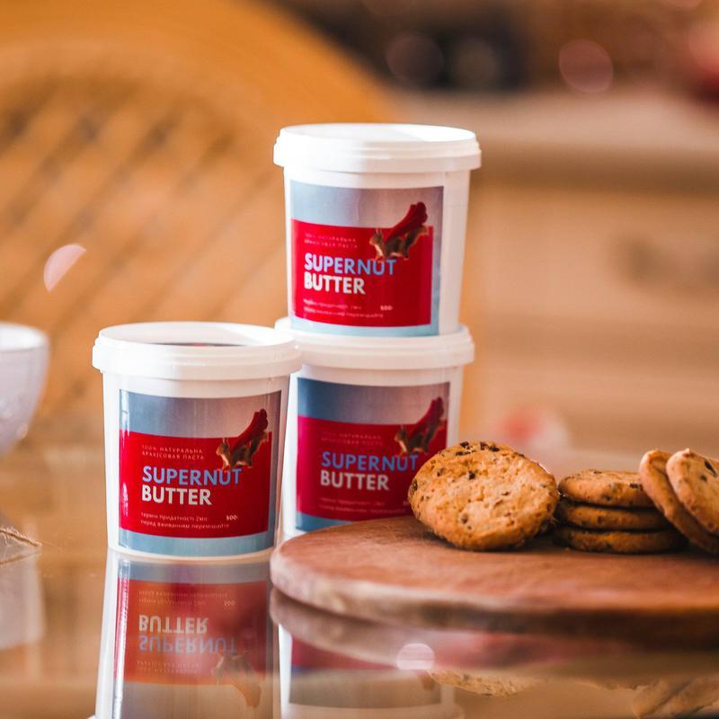 Натуральная арахисовая паста SUPERNUT™(100% арахис).Разные вкусы - Фото 2