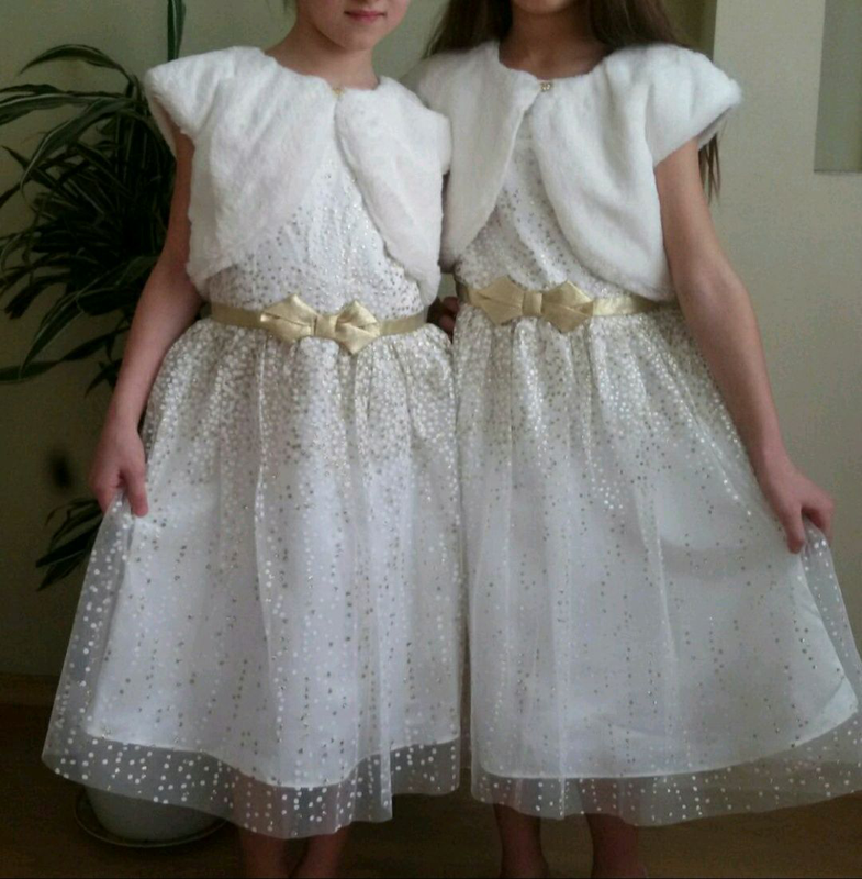 Новое фирменное платье на 9,10,11 лет рост 128,134,140 - Фото 3