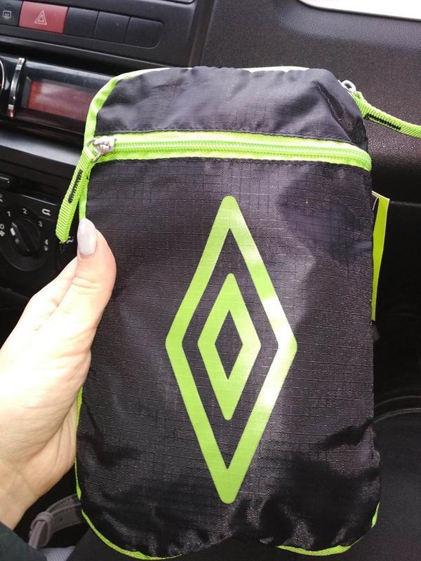 Umbro packaway рюкзак с логотипом 2в1 - Фото 5