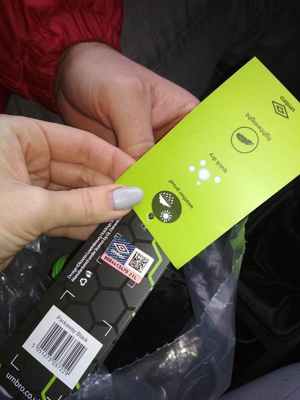 Umbro packaway рюкзак с логотипом 2в1 - Фото 6