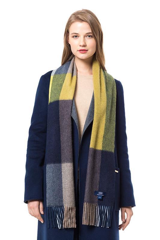 Gobi кашемировый шарф, палантин - Фото 2
