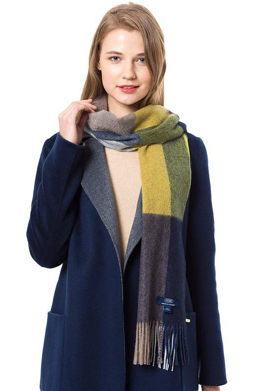 Gobi кашемировый шарф, палантин - Фото 4