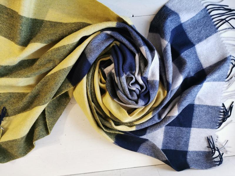 Gobi кашемировый шарф, палантин - Фото 8