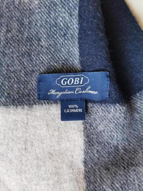 Gobi кашемировый шарф, палантин - Фото 9