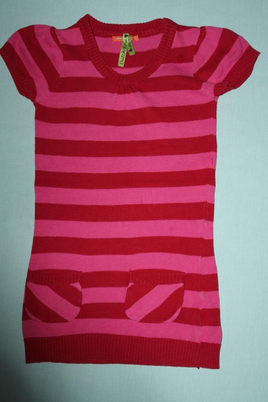 Платье-сарафан для девочки ф.hema р-110/116 в отличном состоянии