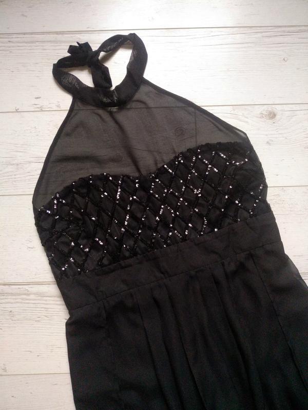 Соблазнительное платье макси с боди внутри р. 14-16 - Фото 5
