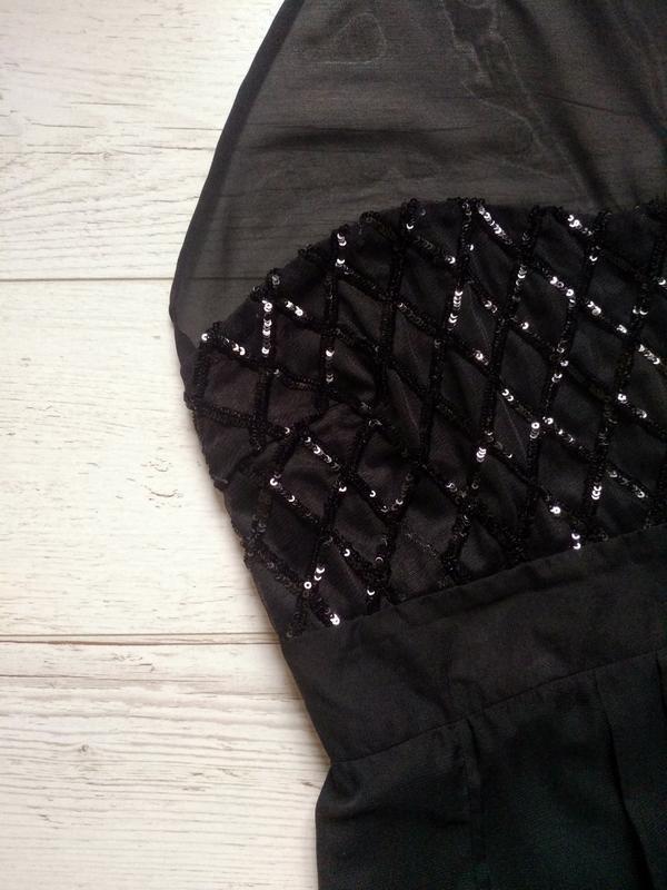 Соблазнительное платье макси с боди внутри р. 14-16 - Фото 6
