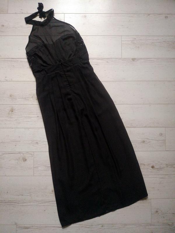 Соблазнительное платье макси с боди внутри р. 14-16 - Фото 7