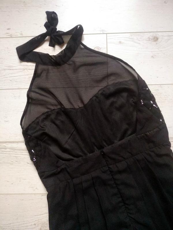 Соблазнительное платье макси с боди внутри р. 14-16 - Фото 9