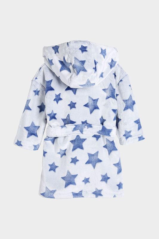 Махровый теплый халат для мальчика next, размер 5-6 лет - Фото 2