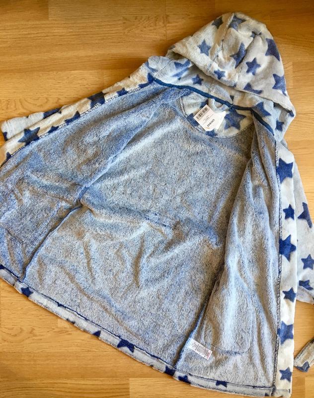 Махровый теплый халат для мальчика next, размер 5-6 лет - Фото 9