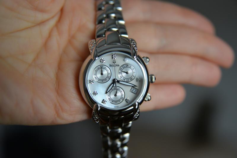 Бриллианты! женские часы хронограф с бриллиантами bulova, діам... - Фото 3