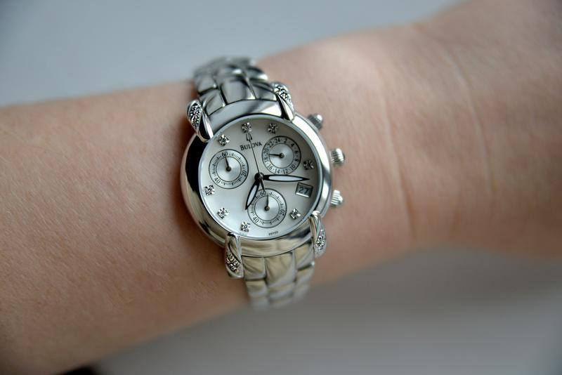 Бриллианты! женские часы хронограф с бриллиантами bulova, діам... - Фото 5