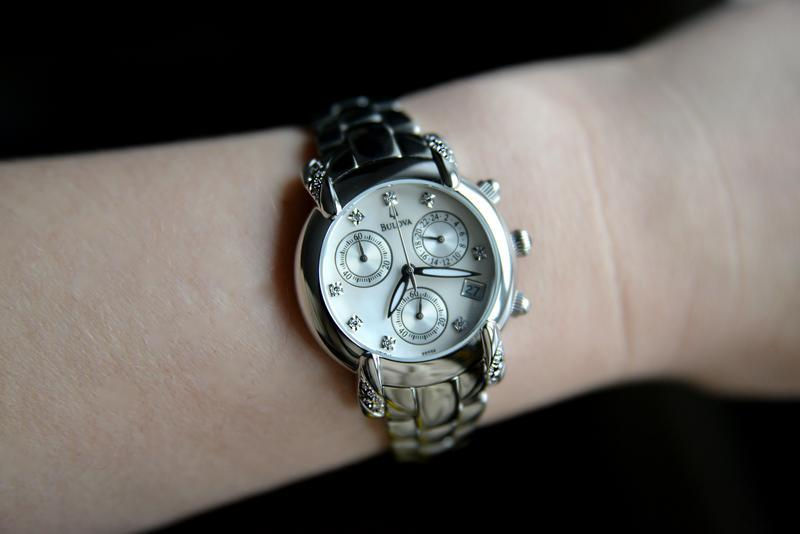 Бриллианты! женские часы хронограф с бриллиантами bulova, діам... - Фото 6