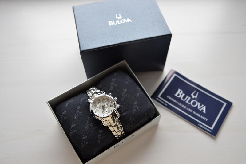 Бриллианты! женские часы хронограф с бриллиантами bulova, діам... - Фото 9