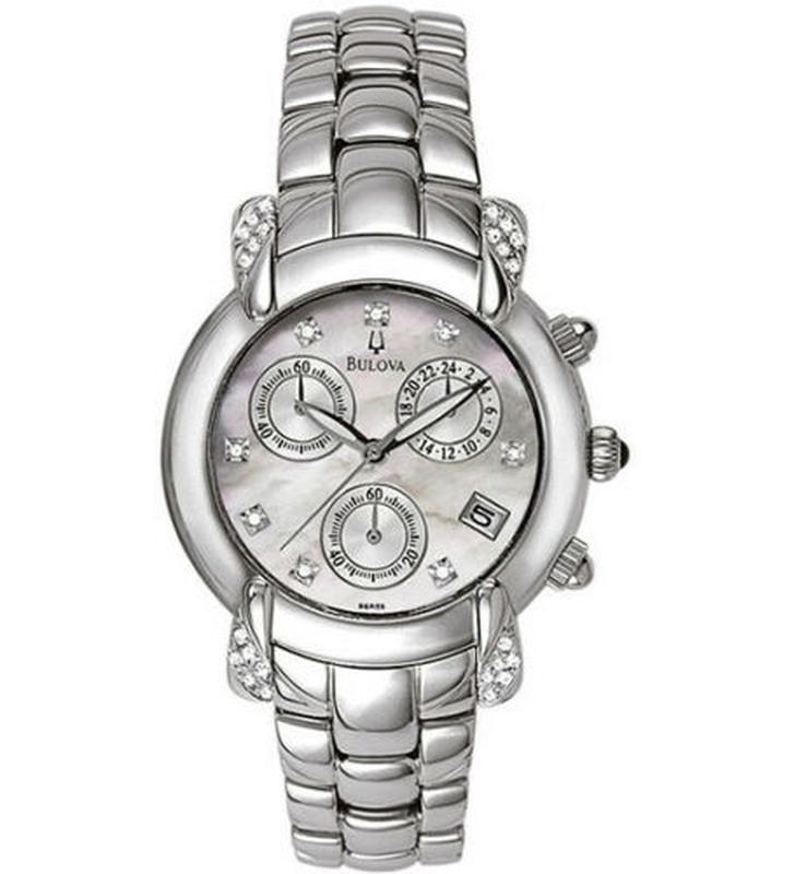 Бриллианты! женские часы хронограф с бриллиантами bulova, діам... - Фото 10