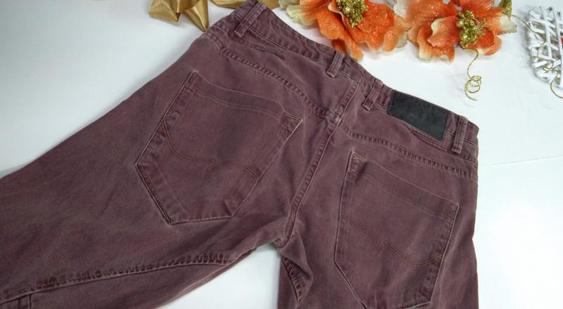 Мужские фирменные джинсы jacksjones турция размер30-32 - Фото 6