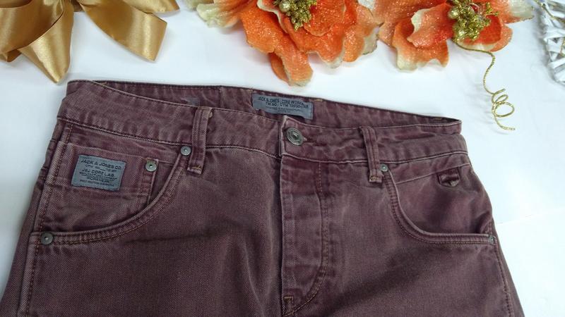 Мужские фирменные джинсы jacksjones турция размер30-32 - Фото 8