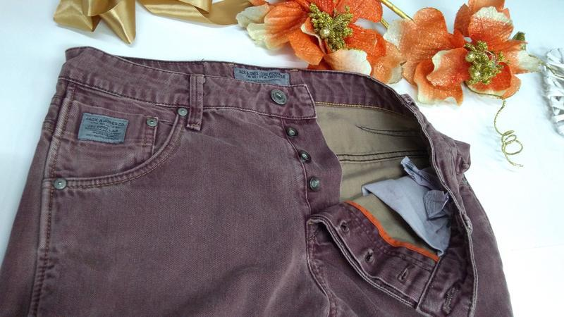 Мужские фирменные джинсы jacksjones турция размер30-32 - Фото 10