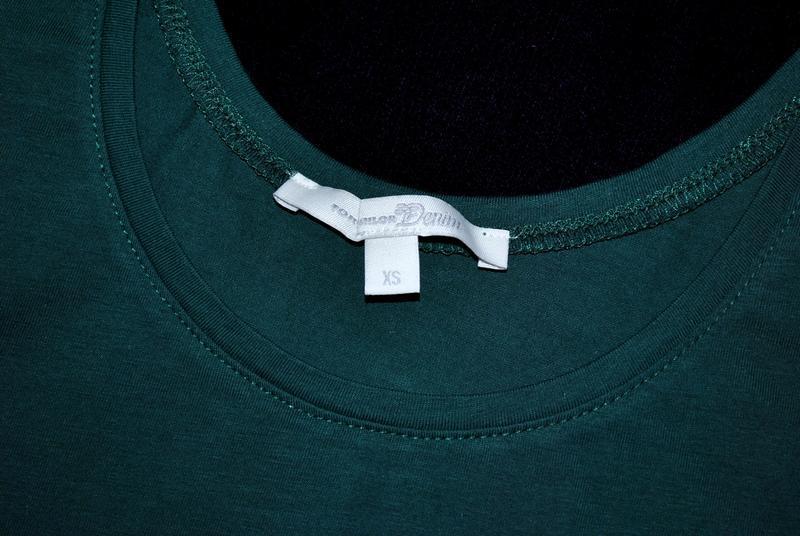 Майка tom tailor бренд изумрудная зеленая xs-s германия - Фото 6
