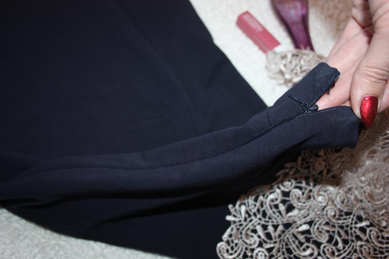 Красивое платье  с шикарным кружевом. платье миди - Фото 2