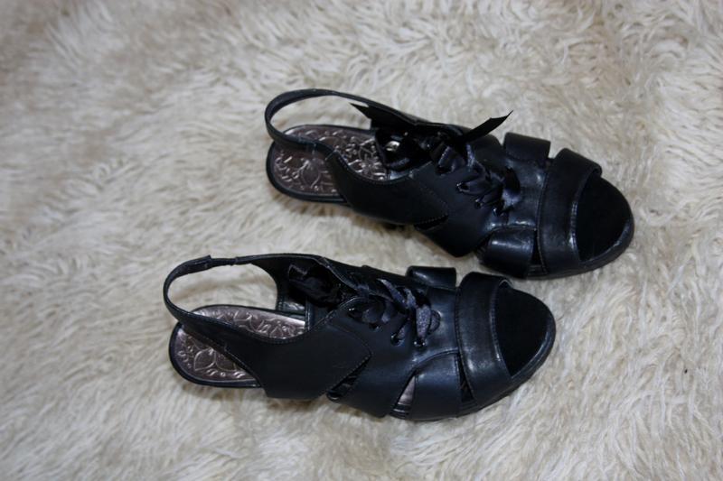 Туфли . босоножки удобный каблучек - Фото 2