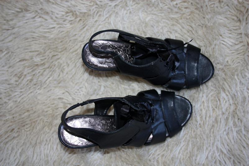 Туфли . босоножки удобный каблучек - Фото 3