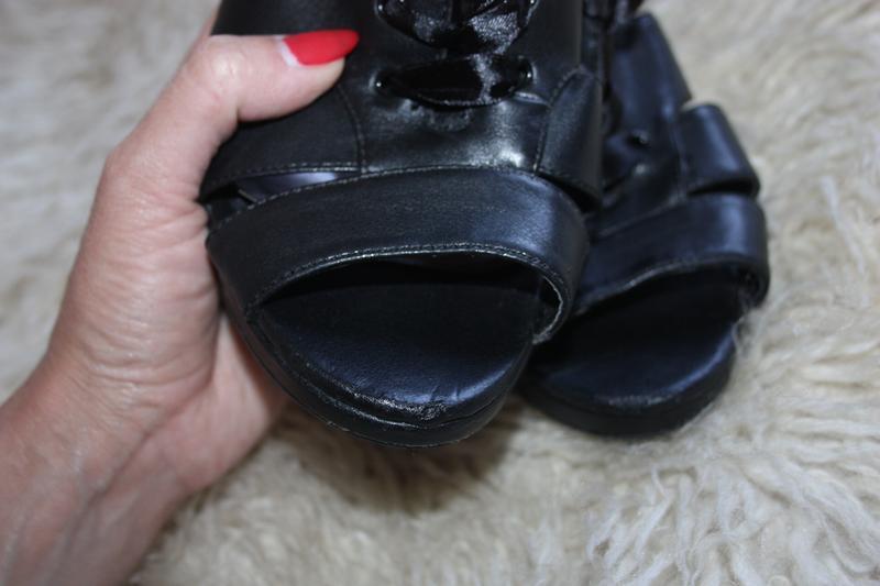 Туфли . босоножки удобный каблучек - Фото 4