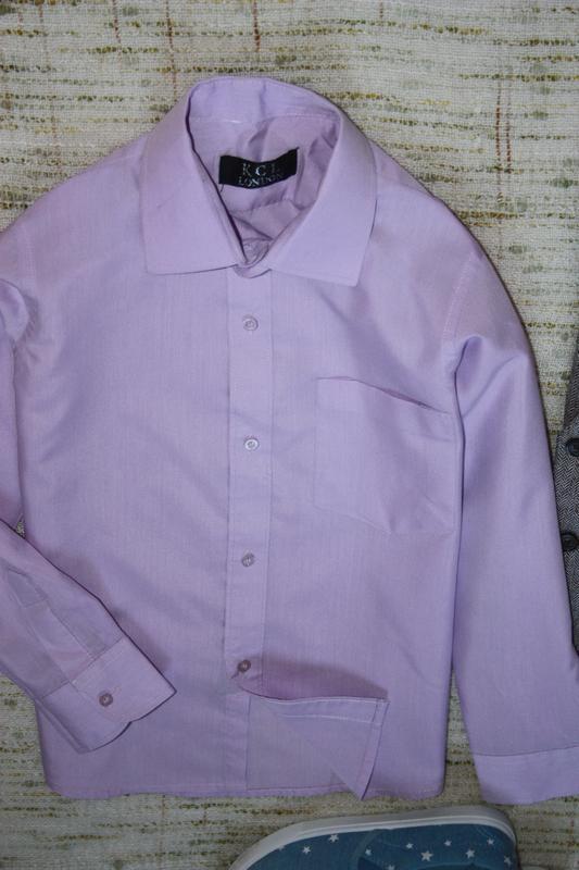 Рубашка на мальчика - Фото 2