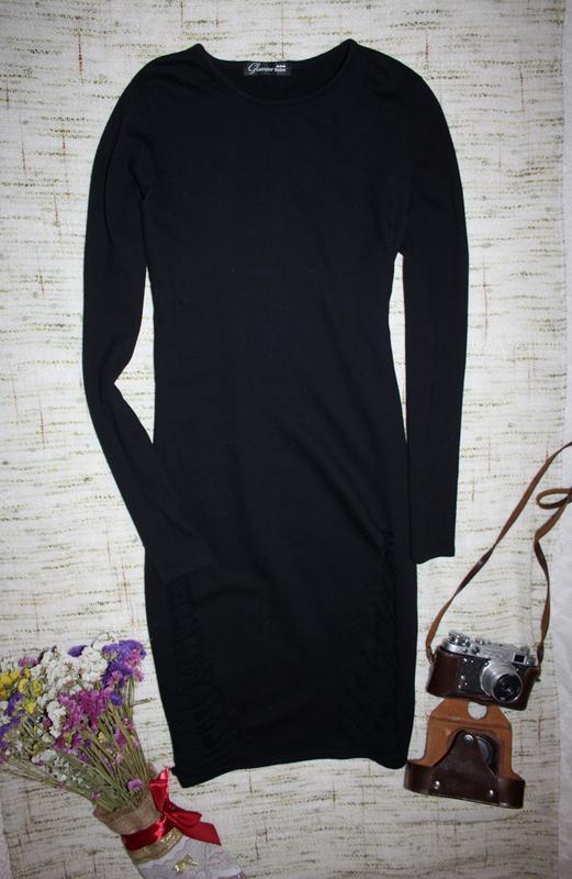 Платье с порватостями