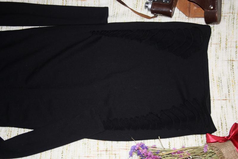 Платье с порватостями - Фото 2