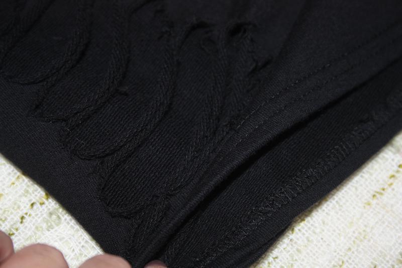 Платье с порватостями - Фото 4
