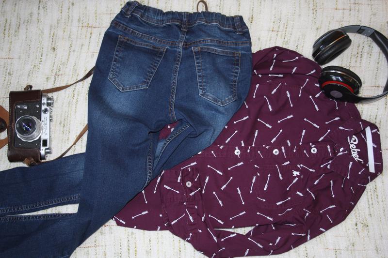 Стильные джинсы , скинни на мальчика - Фото 2