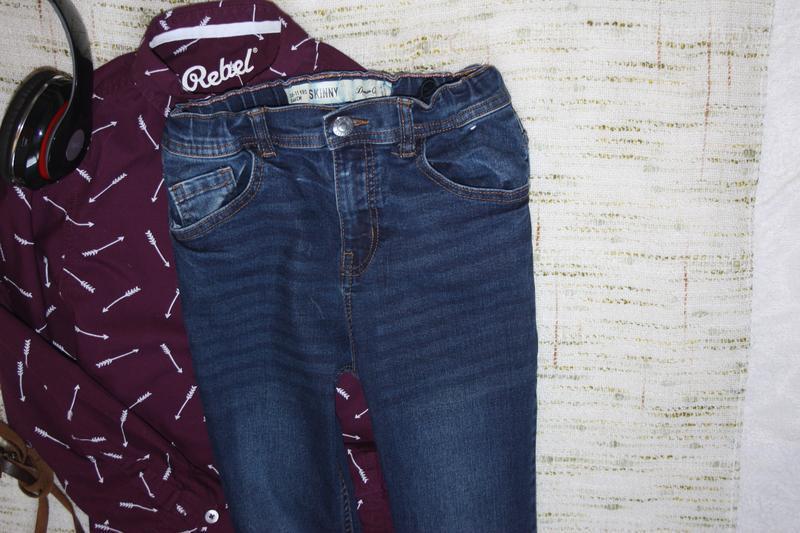 Стильные джинсы , скинни на мальчика - Фото 4